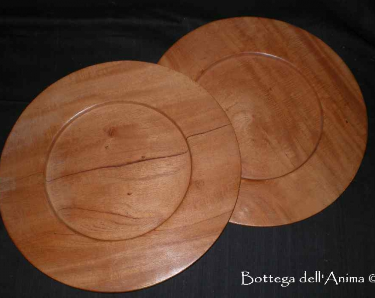 Piatti in legno per la casa bottega dell 39 anima - Piatti per la casa ...